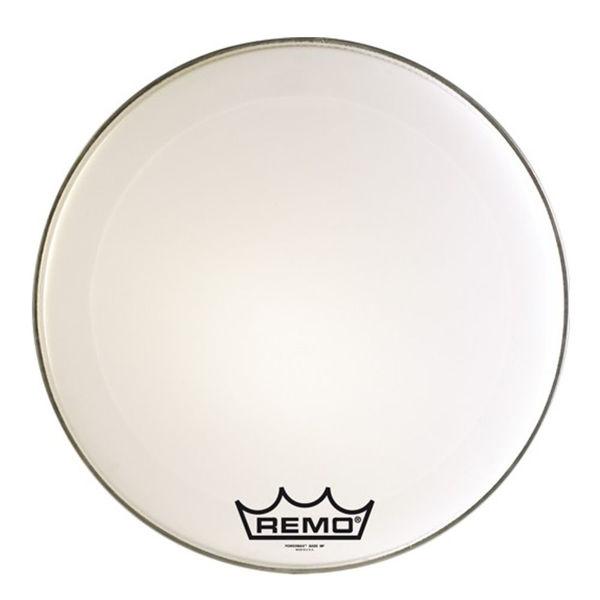 Stortrommeskinn Majestic (Remo) Power Max PM24, 24, Smooth White
