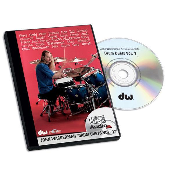 CD John Wackerman, Drum Duets Vol. 1