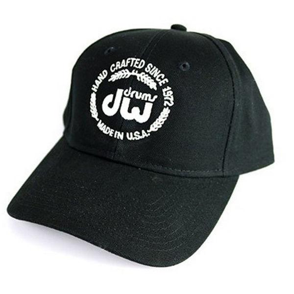 Cap DW PR10HAT01, Laurel Logo, Black