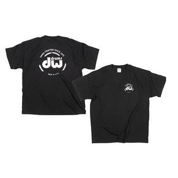 T-Shirt DW Logo, PR20SSBLL, Short Sleeve, Black, Large