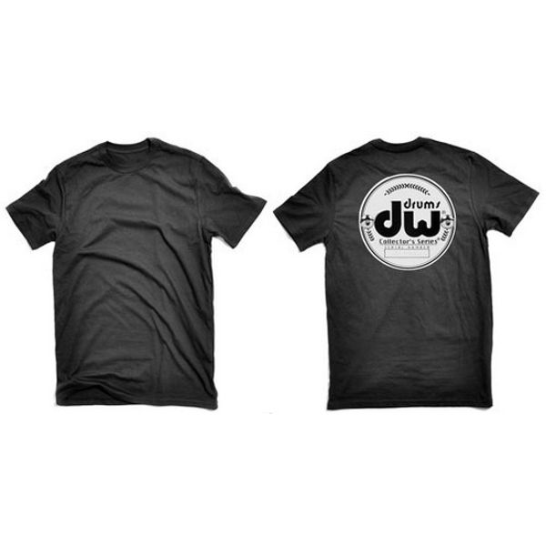 T-Shirt DW Collector Series Badge, Black, Large