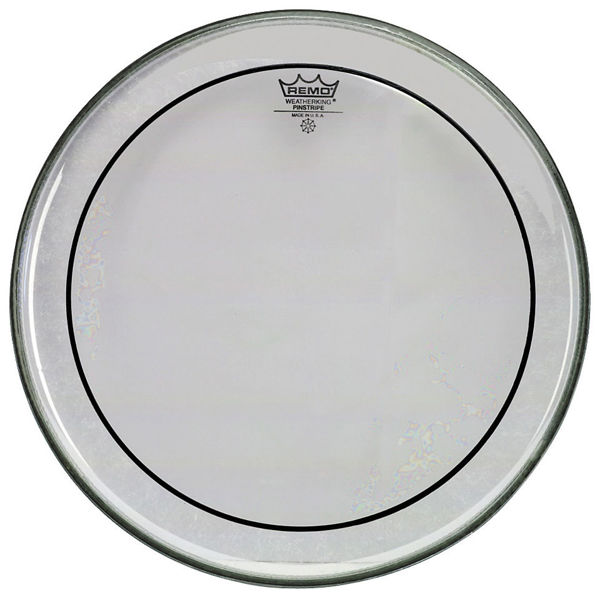 Trommeskinn Remo PinStripe, PS-0312-00, Clear Regulare 12