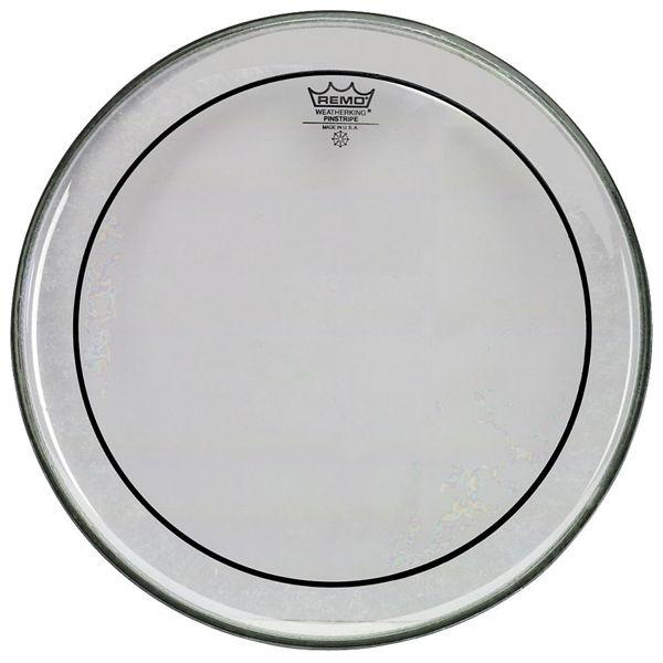 Trommeskinn Remo PinStripe, PS-0318-00, Clear Regulare 18
