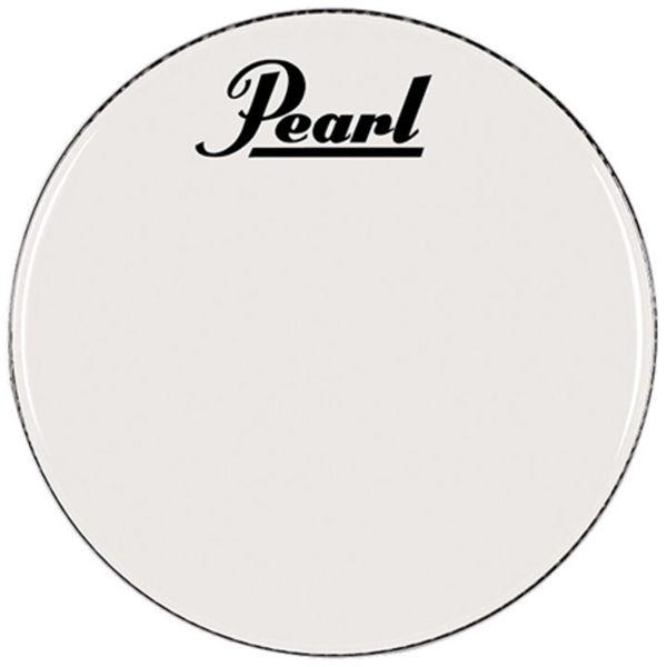 Stortrommeskinn Pearl PTH-22CEQPL, White w/Perimeter EQ, m/Pearl Logo 22