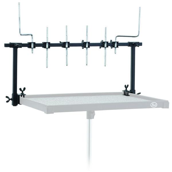 Perkusjonsrack PTR-UNV, For PTT-1824W Stikke/Perkusjonsbord, Universal Fit Trap Table Rack