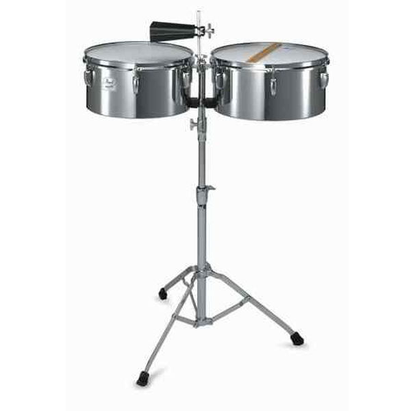 Timbales Pearl PTS-5134, Steel, 13-14 m/Stativ