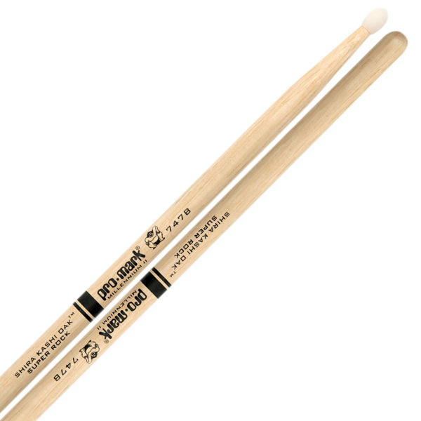 Trommestikker Pro-Mark Shira Kashi Oak 747BN, PW747BN, Oak, Nylon Tip