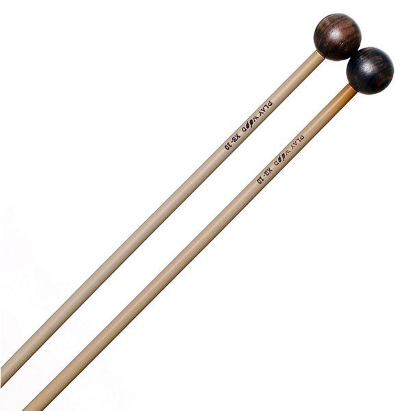 Xylofonkøller Playwood XB-10, Ebony, Rattan, Hard