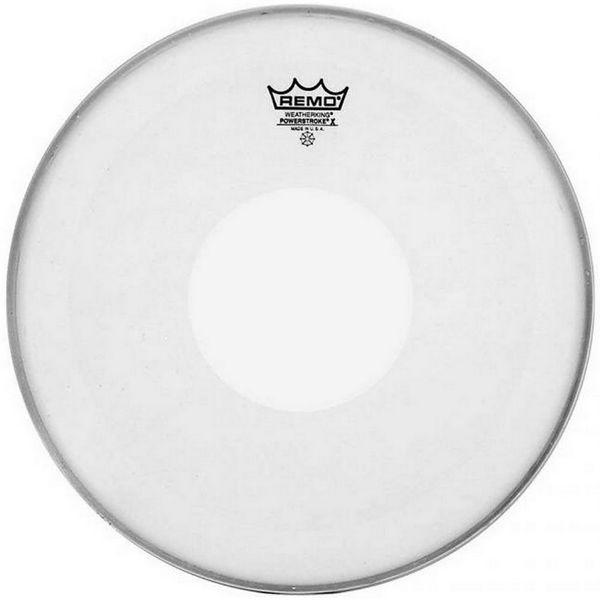 Trommeskinn Remo Powerstroke-X PX-0114-C2, Coated, 14, Clear Dot On Top
