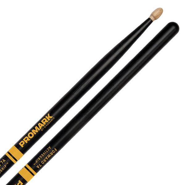 Trommestikker Pro-Mark Rebound Balance Active Grip R7AAG, 7A, Acorn Hickory Wood Tip