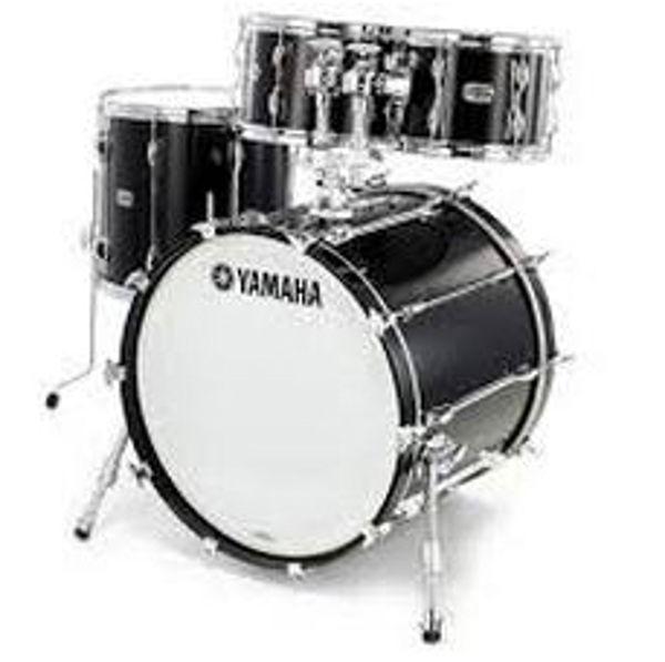 Slagverk Yamaha Recording Custom Fusion, 20, Solid Black