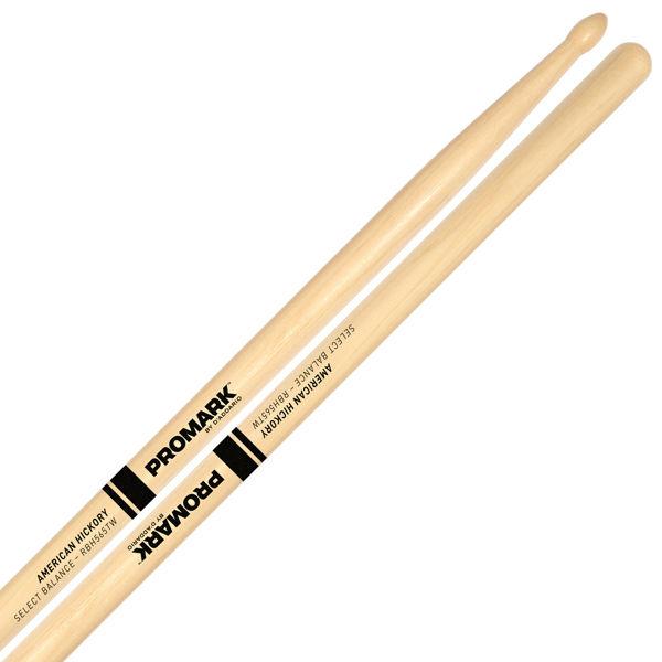 Trommestikker Pro-Mark Rebound Balance Hickory RBH565TW, 565, Hickory TD Wood Tip