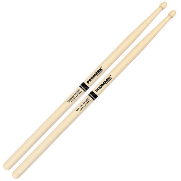 Trommestikker Pro-Mark Rebound Balance Hickory RBH595AW, 5B, Acorn Hickory Wood Tip