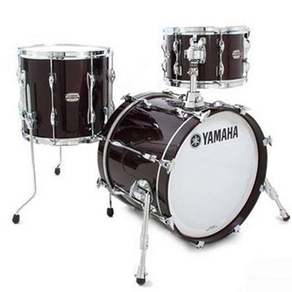 Slagverk Yamaha Recording Custom Jazz, 18, Solid Black