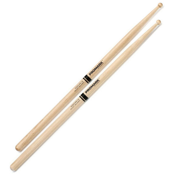 Trommestikker Pro-Mark Rebound Balance RBM595LRW, 5B, Maple Long Round Wood Tip
