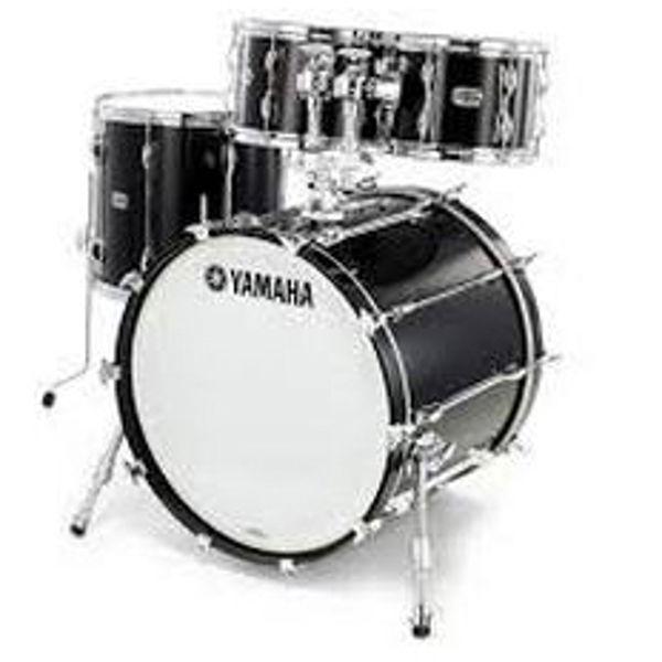 Slagverk Yamaha Recording Custom Rock, 22, Solid Black