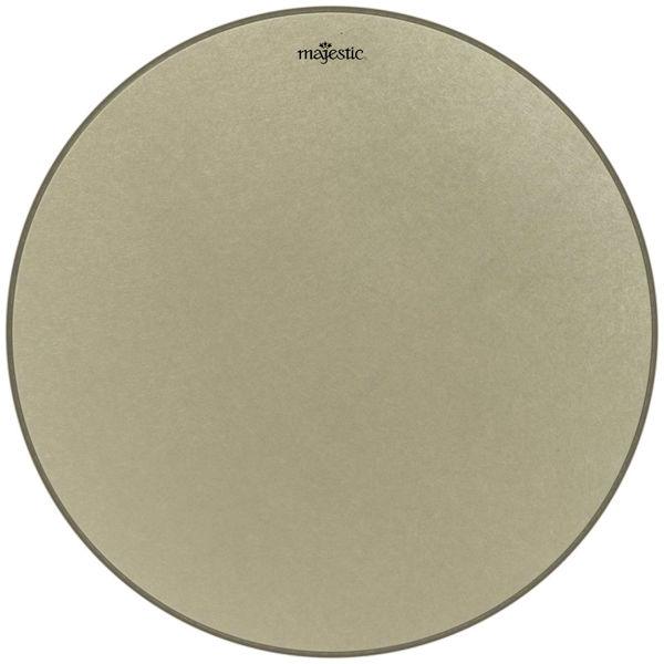 Paukeskinn Majestic Remo Renaissance RC-3100-RS, Aluminum Insert Ring, Clear Film m/Majestic Logo