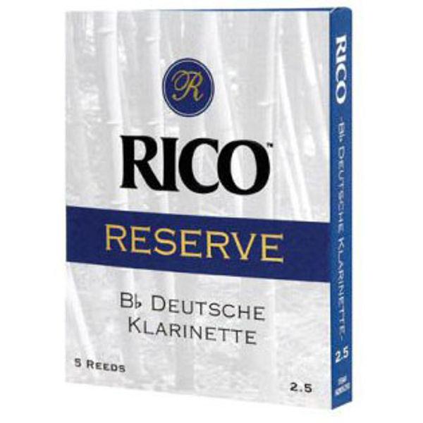 Klarinettrør Rico Reserve Tysk/German/Deutch 4, 5 pakke