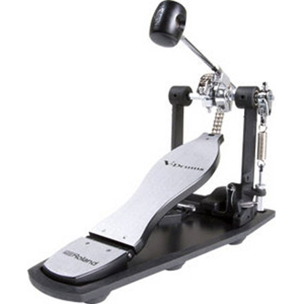 Stortrommepedal Roland RDH-100, Enkel Pedal Med Noise Eater