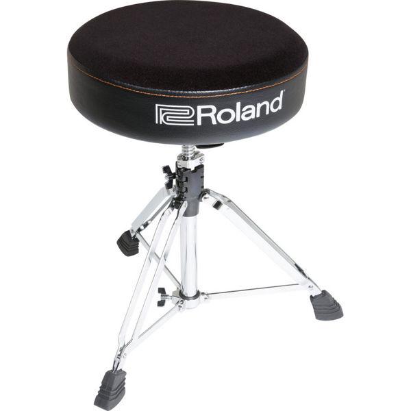 Trommestol Roland RDT-R, Round, Velours Seat
