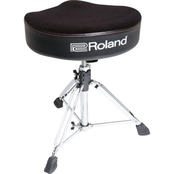 Trommestol Roland RDT-S, Saddle Velours Seat