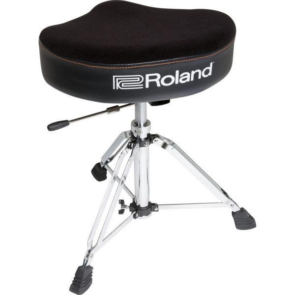 Trommestol Roland RDT-SH, Saddle Velours Seat, Hydrolic