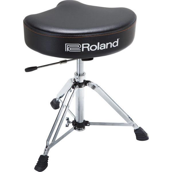 Trommestol Roland RDT-SHV, Saddle Vinyl Seat, Hydrolic