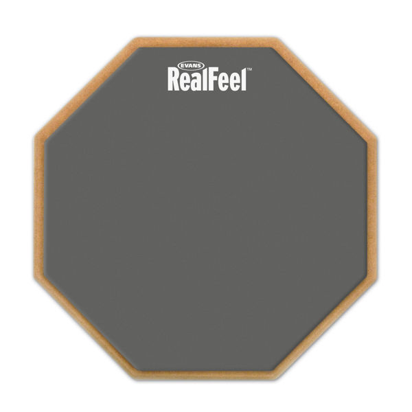 Trommepad Evans Real Feel Speed And Workout RF12G, Single Sided, 12