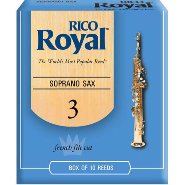 Sopransaksofonrør Rico Royal D'Addario 3