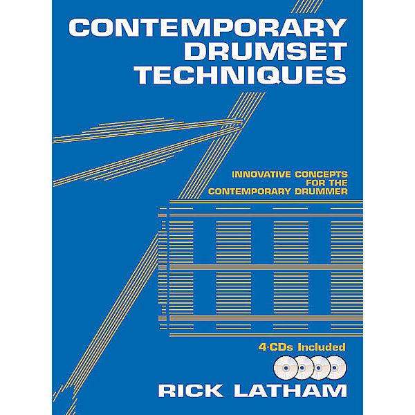 Contemporary Drumset Techniques, Rick Latham, m/4 CD'er