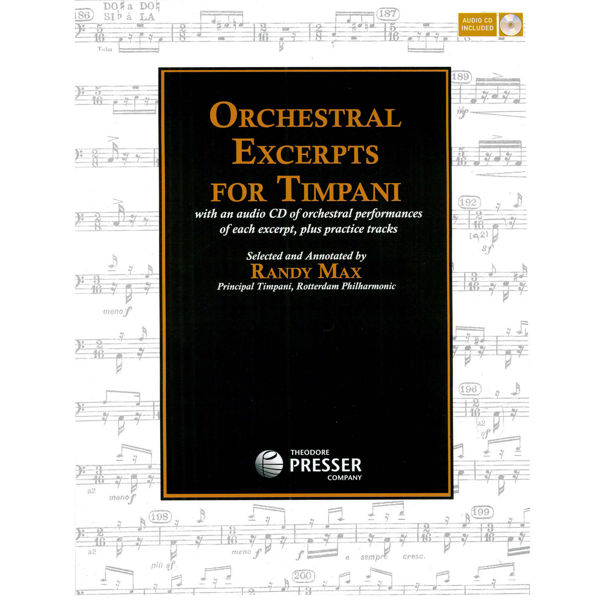 Orchestral Excerpts For Timpani, Randy Max