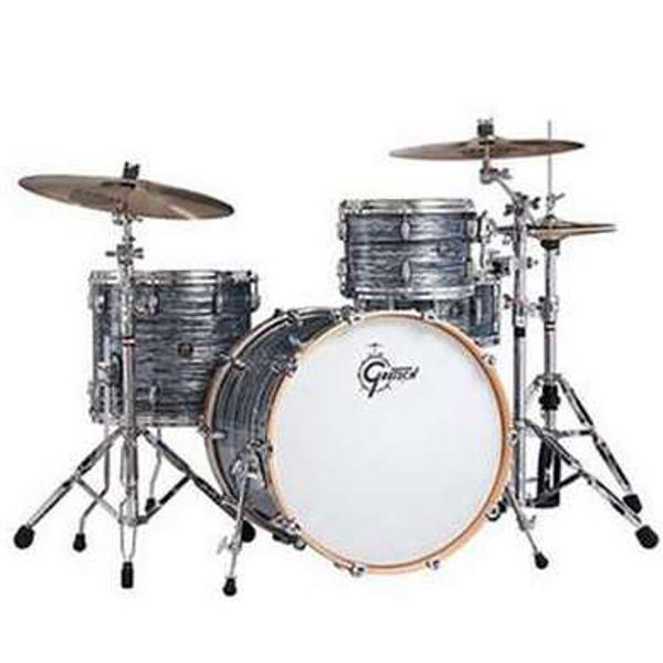 Slagverk Gretsch Renown Maple RN2-R643, 24 Shell Pack, Silver Oyster Pearl