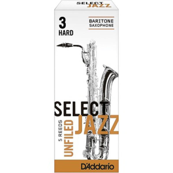 Barytonsaksofonrør Rico D'Addario Select Jazz Un-filed 3 Hard