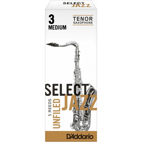 Tenorsaksofonrør Rico D'Addario Select Jazz Un-filed 3 Medium