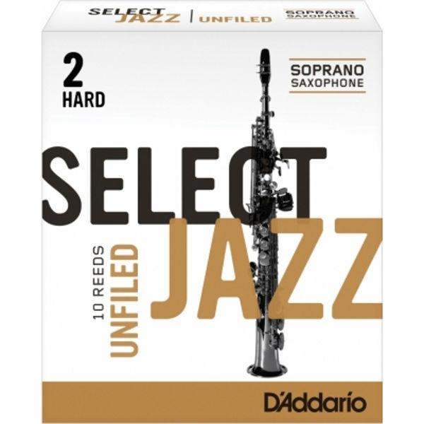 Sopransaksofonrør Rico Select Jazz 2 Hard Unfiled
