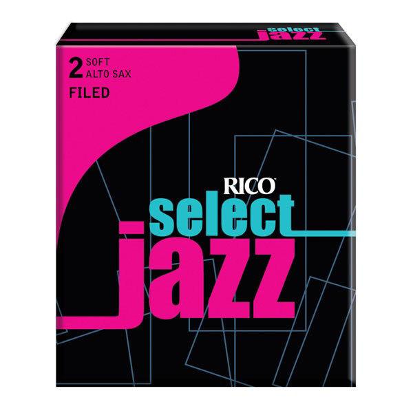 Altsaksofonrør Rico Select Jazz Filed 2 Soft