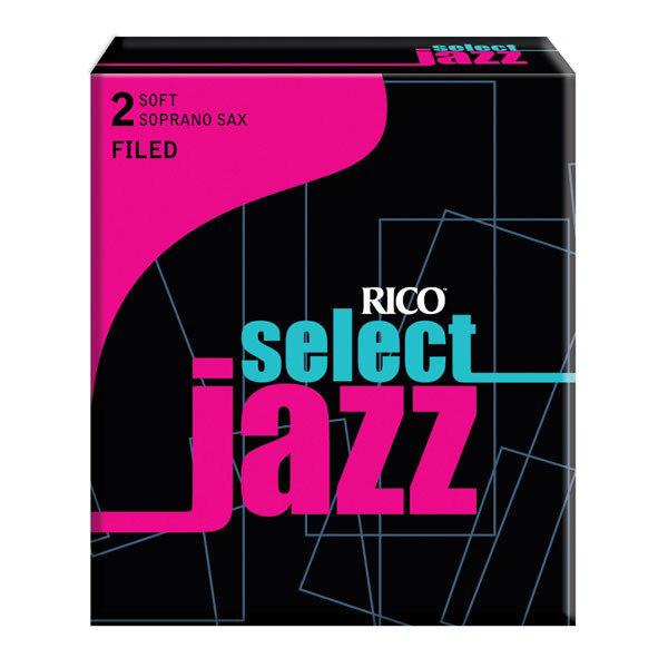 Sopransaksofonrør D'Addario Select Jazz 2 Soft Filed