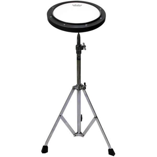 Trommepad Remo RT-0008-ST, 8 m/Stembartskinn og Stativ, 6mm