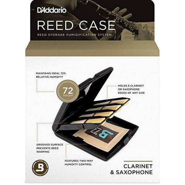 Røretui Klarinett-Saksofon Rico Reed Case, Humidity Control Pack