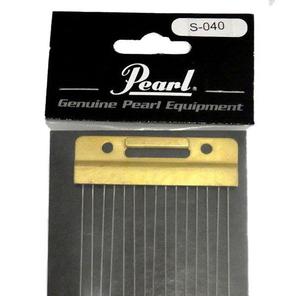 Seider Pearl S-040, Tynn Steel Wound Wire