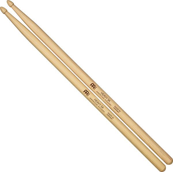 Trommestikker Meinl Heavy 5A, SB108 Hickory, Wood Tip