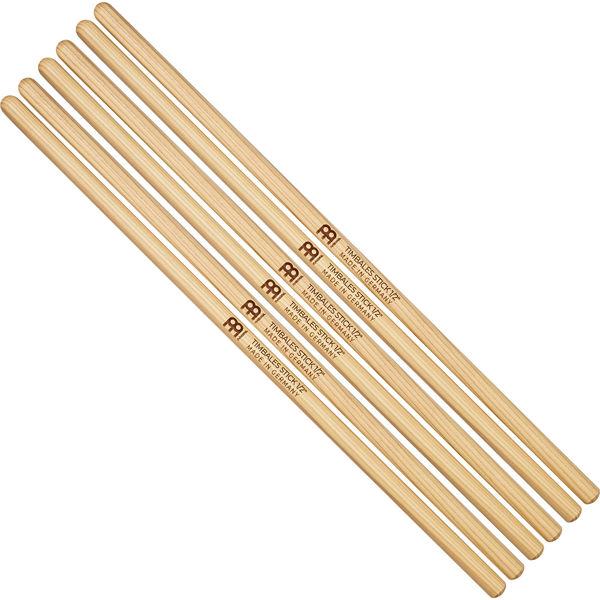 Timbalestikker Meinl Timbale Sticks SB119-3, 1/2 Uniform, Hickory, 3 par