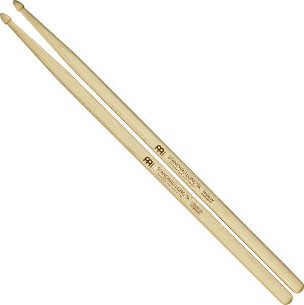 Trommestikker Meinl Standard Long 7A, SB121 Hickory, Wood Tip