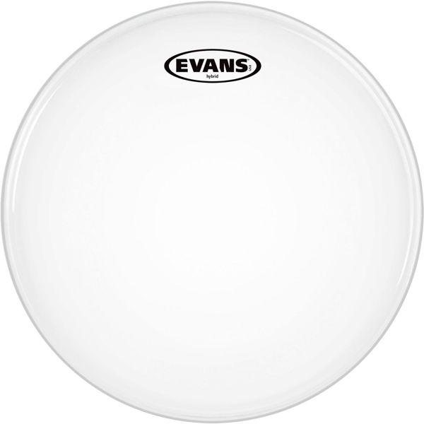 Trommeskinn Evans Hybrid White, SB14MHW, White Aramid Fiber 14