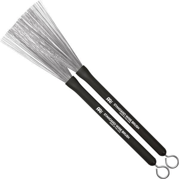 Visper Meinl Standard Wire Brush SB300, Rubber Handle