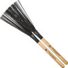 Visper Meinl Fixed Nylon Brush SB303, Wood Handle