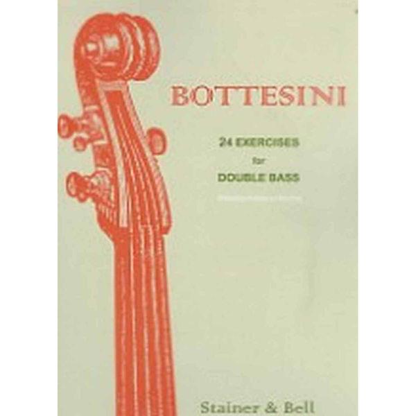 Bottesini, 24 Exercises for Double Bass