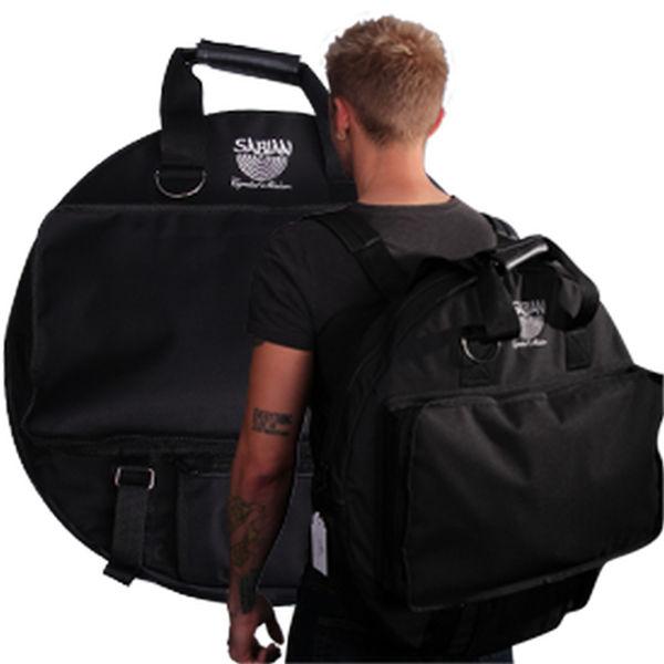 Cymbalbag Sabian #61016, Back-Pack 22, Black