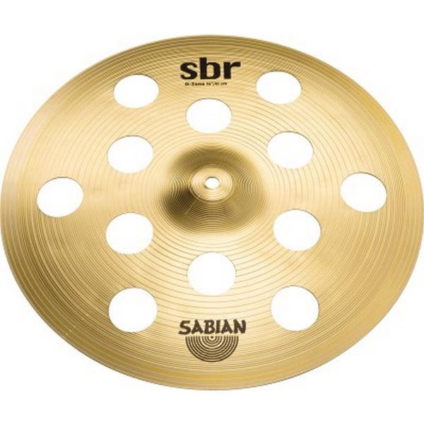 Cymbal Sabian SBR Crash, O-Zone 16, Brass