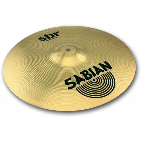 Cymbal Sabian SBR Crash, 16, Brass